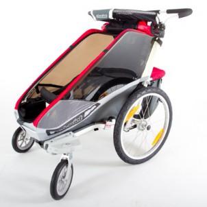 Der Cougar in der Variante Buggy, mit 360 Grad drehbaren Vorderrädern, ist er in jedem Supermarkt unschlagbar.