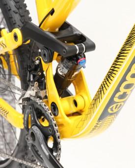 und Enduro-Ausrichtung, in Gelb.