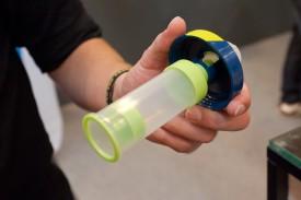 Gel-bot: Trinkflasche mit Gel-Kammer