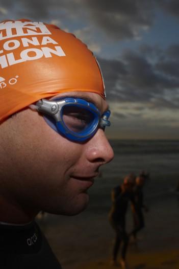 heldenhaft ins Meer, um 1.500, 750 oder 400 Meter später