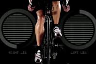 die getrennt für das linke und rechte Bein