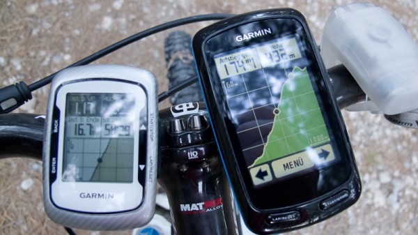 Garmin Edge 800 vs. Edge 500