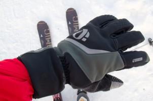 macht auch als Schi(touren)handschuh eine gute Figur