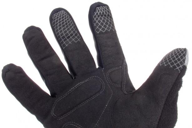 Zone mit mehr Grip an Daumen, Zeige- und Mittelfinger