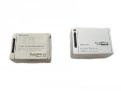 Rückseite: Record-LED + GoPro Anschluss