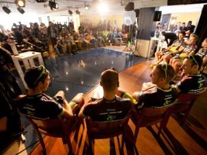 Teampräsentation beim Merida Presscamp 2012