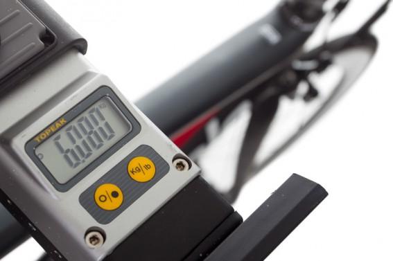 6.08 kg mit SRM und Hochprofil-Laufrädern