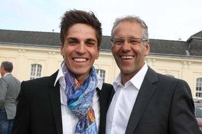 Zeit für Small Talk (Thomas Rohregger und Gerhard Zadrobilek)