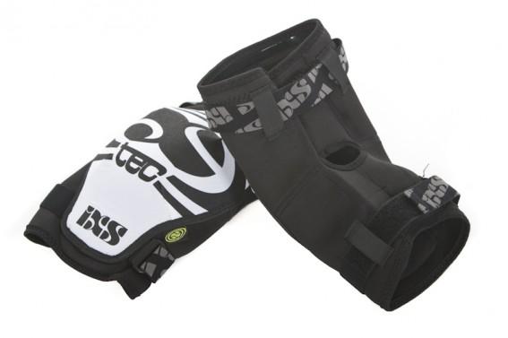 """IXS Hack Series Knee Pads (~260 g/Paar) Die Hacks fürs Knie besitzen darüber hinaus noch eine hufeisenförmige Verstärkung rund um das Knie (""""KneeGusset TM""""), um Schläge in dieser Region noch besser auffangen zu können."""
