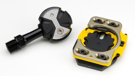 Speedplay Zero Edelstahl Pedal (ca. 206 Gramm Pedale, 188 Gramm Platten)