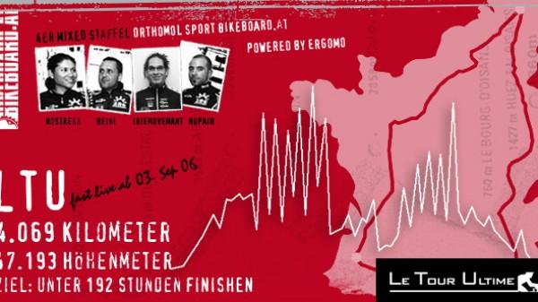 Le Tour Ultimé TÄGLICH LIVE ab 03. Sep