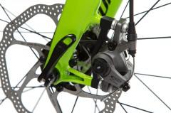 der Adapter wäre bei hydraulischen Scheibenbremsen mit kleinerem Rotor hinfällig