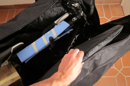 Laufrad #1 (Mavic-Tasche befindet sich natürlich nicht im Lieferumfang)