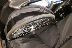 Laufrad #2 in der integrierten B&W-Tasche