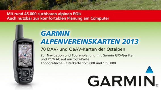 Garmin AV-Karten 2013
