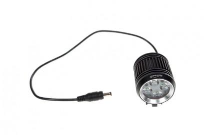 wertiger Alu-Lampenkopf mit Netzkabel