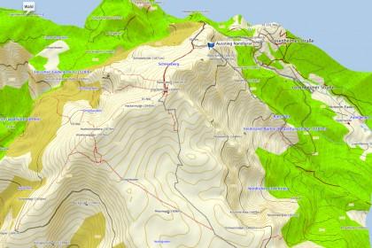 3D Ansicht Topo Austria 2
