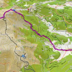 Modus Bergsteigen: Nandlgrat, der etwa einen halben Grad schwieriger ist als der Fadensteig