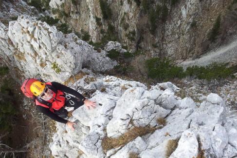 ein hilfreiches Tool beim Bergsteigen
