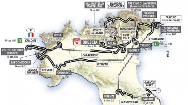 96º Giro d'Italia 2013