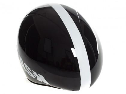 Der Helm wurde für fast alle Kopfstellungen aerodynamisch optimiert.