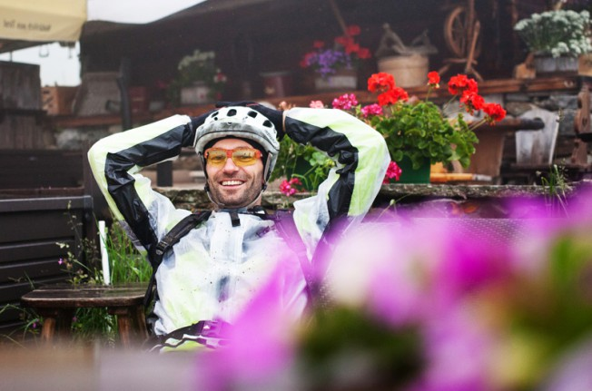 Drei von vielen, die für die MTB-Begeisterung im Brixental stehen: Kurt Exenberger