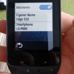 Garmin für Smartphone Nutzung aktivieren