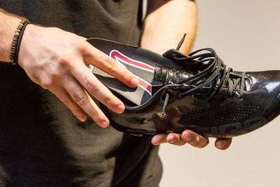 Die Einlagen sind sehr dünn und tragen nicht wirklich auf. Der Schuh wird dadurch keineswegs enger.