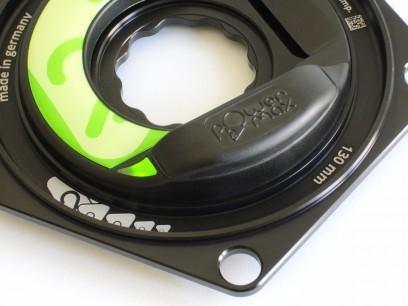 Die Status LED ist von außen sichtbar und zeigt den Batterielade-Zustand an.