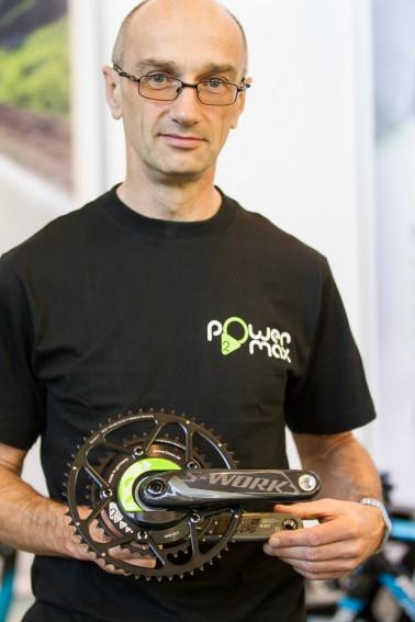 Marco R., Power2Max Geschäftsführer mit seiner neuesten Kreation