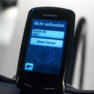ANT+ ID eingetragen, Geräte sind gekoppelt