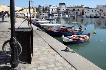 Neben dem alten Hafen von Bizerte entsteht das