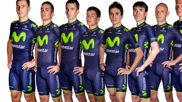 Team Movistar fährt Canyon
