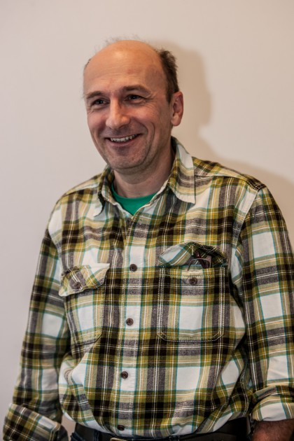"""BB-User """"Schlammspringer"""" alias Andreas Mocha ist als IT-Projektmanager der ideale Mann, um die Vereinsarbeit zu strukturieren. Sein Wunsch: die Biker aus den hochsensiblen Gebieten """"umleiten""""."""