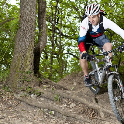 Das Ziel: Spaß auf open trails