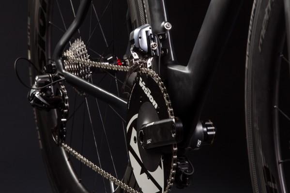Cannondales neue SiSl2 Kurbel mit Vision Aero-Kettenblättern