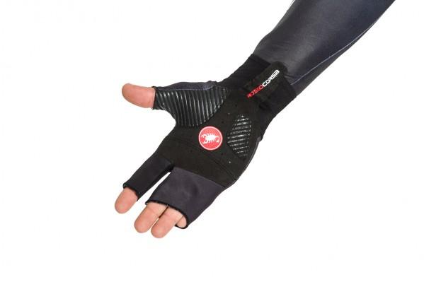 Die Handschuhe sind sehr bequem, sehen allerdings etwas eigenartig aus.