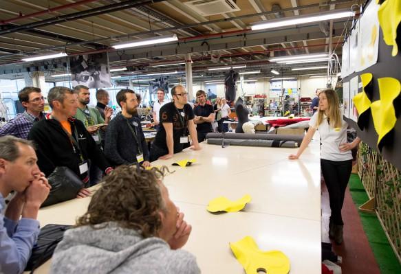 Vortrag über die komplexe Entstehungsgeschichte des neuen Ergo 3D Pro-Sitzpolsters