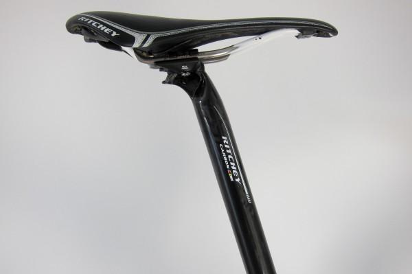 Ritchey WCS Carbon Link Sattelstütze UD, schwarz, glänzend, 31,6 mm, 400 mm, SB 15 mm