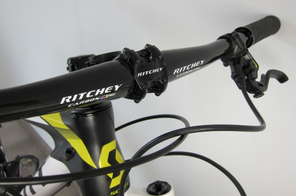 Ritchey WCS Carbon Flat 9D OS UD, schwarz-glänzend, 680 mm