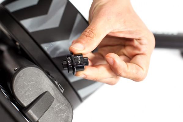 Adapter für 130/135-Millimeter-Hinterbauten