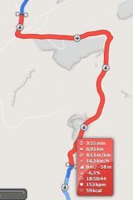 Polar M400 Track liegt nie weit daneben
