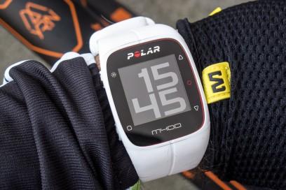 minimalistisch übersichtlich die konfigurierbare Uhr (Modus groß)