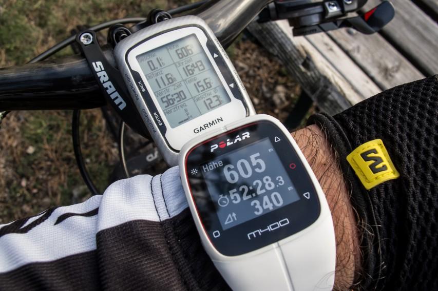 die GPS-Höhe ist, was Schwankungen angeht, leider nicht so genau wie die barometrische Höhe des Edge 500