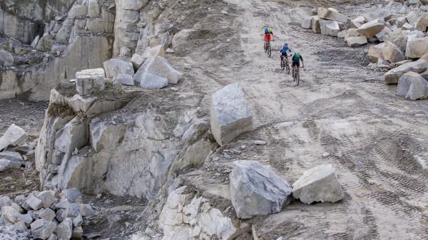 Mountainbiken im Granitland