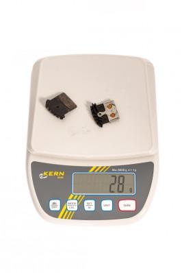 Gewicht der Metall-Beläge (1 Paar)