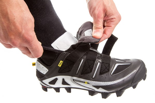 mit den dünnen Pads kann man sogar in die engsten Schuhe schlüpfen