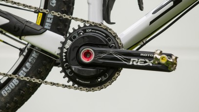 POWER2MAX FÜRS MTBType S Rotor Rex 1 MTB Single 104 BCD