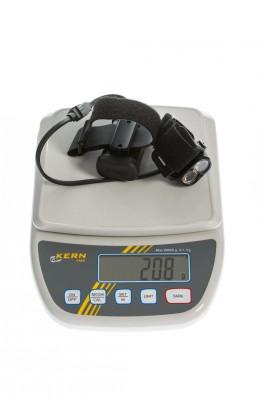 Gewicht inkl. Helmhalterung