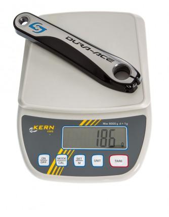Dura-Ace FC-9000 mit Stages: 186 Gramm